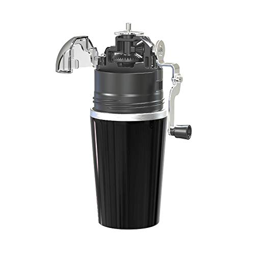 SHENGDAFASHANGCHENG Coffee Maker, Portable Small Household Hand-Cranked Coffee Maker, Mini Coffee Machine, Coffee Milk Tea Machine, Precision Filtration, Large Capacity
