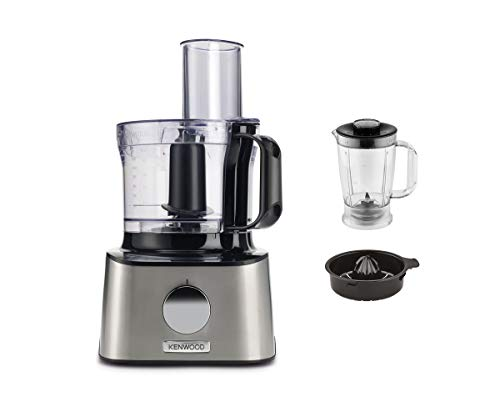 Kenwood FDM301SS Robot multifonction compact, 800 W, 2.1 liters, INOX