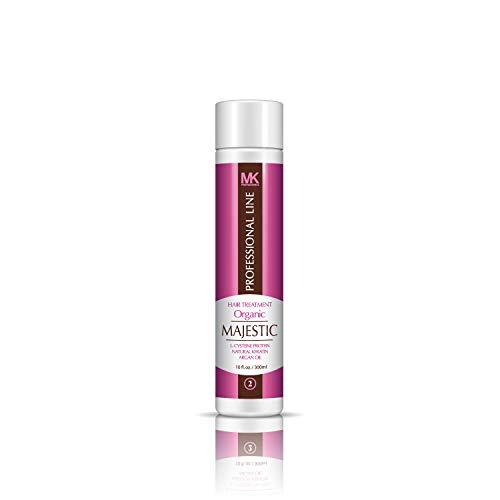 Majestic Keratin Protein Hair Treatment Organic 300ml (10oz) Formaldehyde Free