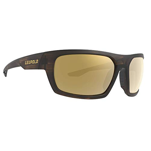 Leupold Packout Performance Eyewear with Matte Tortoise Frames and Bronze Mirror Polarized Lenses