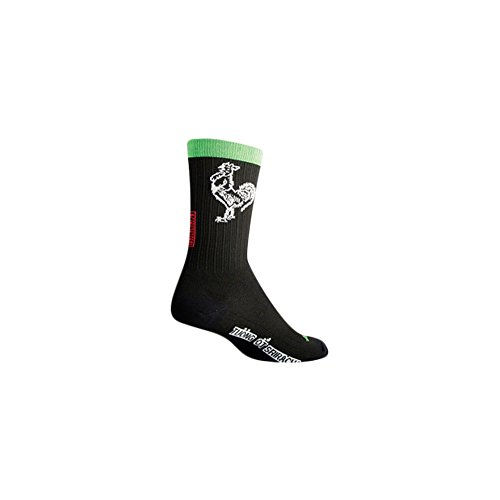 Sockguy SGX 6in Sriracha prestazioni ciclismo/running calzini, Uomo, Cruz V2 Fresh Foam, Small/Medium