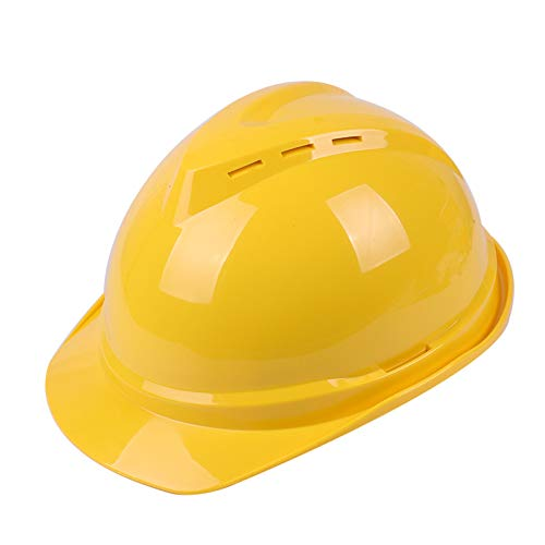 Casco de construcción Casco de seguridad - Construcción de sitios Ingeniería Construcción Casco de seguridad Casco protector Electricista Seguro de trabajo espesado ABS Casco de fibra de vidrio Mejor
