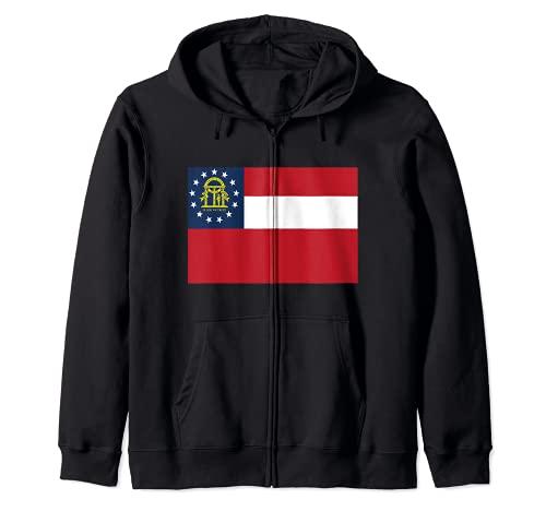Regalos del orgullo del estado de la bandera Sudadera con Capucha