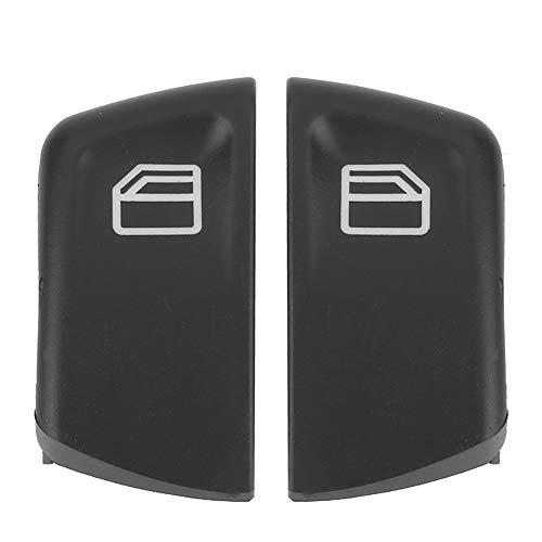 MXLY Interruptor de Ventana de Coche, 2 uds, Cubiertas de botón de Interruptor de Ventana de Coche para Mercedes Vito Viano W639 Sprinter II 906 2003-2013