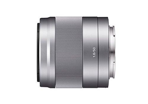 Sony SEL-50F18 Obiettivo a Focale Fissa 50 mm F1.8, Stabilizzatore Ottico, Mirrorless APS-C, Attacco...
