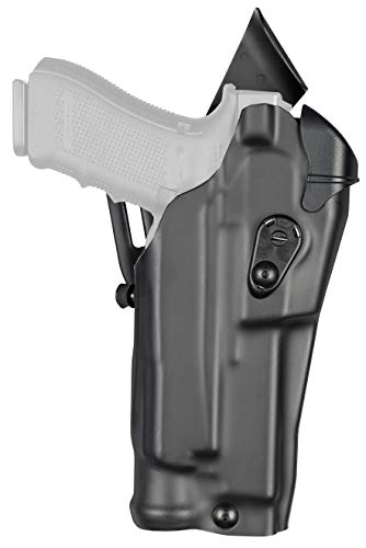 Model 6390RDS ALS Mid-Ride Level I Retention Duty Holster, Right Hand, STX Tactical Black