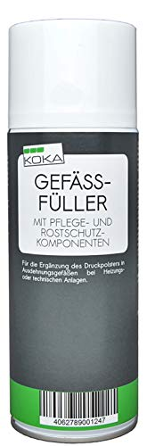 KOKA Gefäßfüller Ausdehnungsgefäß Füller Druck Spray 400 ml