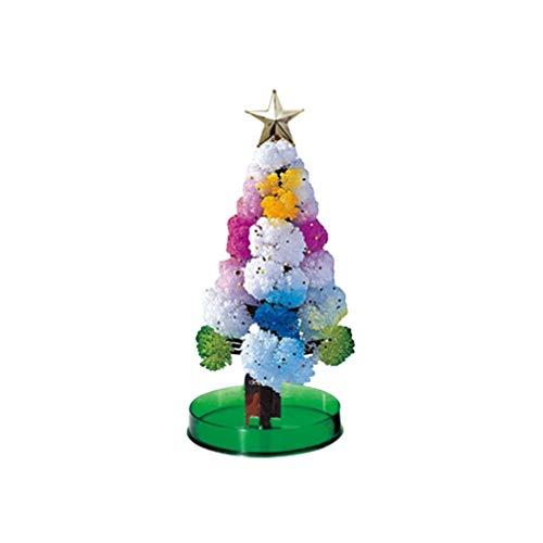 Amosfun Weihnachtsbaum-Tischplattenverzierungs-Papiermagie die Baum künstliche Weihnachtsbaumdekoration für Hochzeitshauptdekor-Feiertagsverzierung wächst