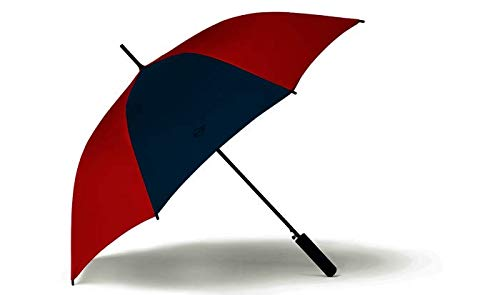 BMW Original Mini Regenschirm Stockschirm Contrast Panel Walking Stick Umbrella Chili Red - Kollektion 2020