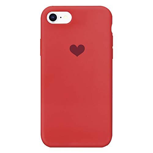 13peas Kompatibel mit iPhone 6 Hülle Silikon iPhone 6S Schutzhülle Handyhülle iPhone 6 Plus Silikonhülle Herz Motiv schutzschale iPhone 6S Plus Hüllen Tasche Handytasche Weiche Etui (3, 6/6S)
