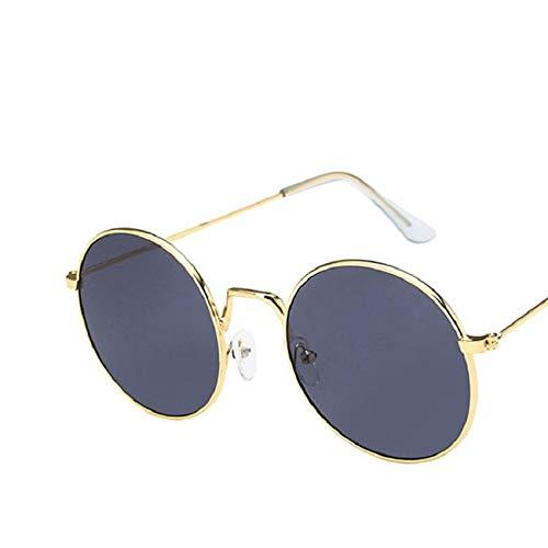 Gafas De Sol Gafas De Sol con Montura Redonda para Mujer, Anteojos Steampunk Vintage para Hombre, Sombrillas para Mujer, Mujer, Mujer 2
