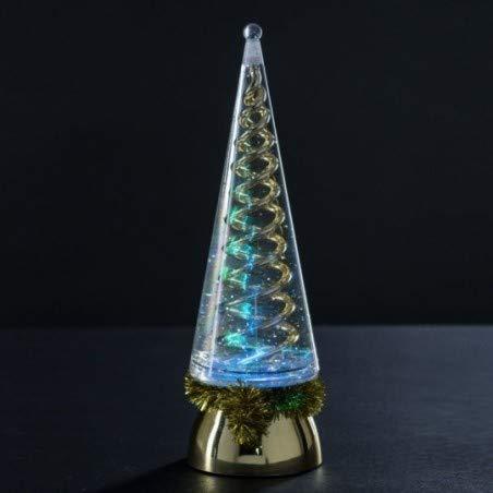 Féerie Lights et Christmas Sapin Lumineux pailleté Coloris Or