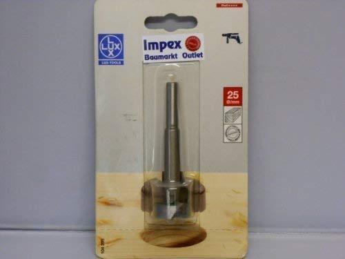 LUX 104205 Forstnerbohrer Durchmesser in mm 25 mm Gesamtlänge in mm 90 mm PROFI