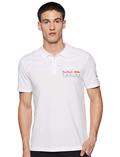PUMA Polo Red Bull Racing pour Homme Puma White S