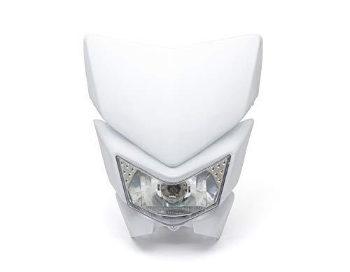 Moto Phare Masque - Streetfighter & Supermoto - Blanc - 12V 35W