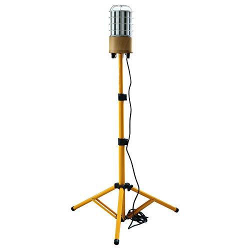 MeFard 100w Led Arbeitslicht Led Baustrahler mitStativ 12000LM, 360° Rundstahl-Beleuchtung,Votage AC100-277V, IP64 wasserdicht