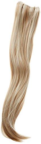 BiYa Hair Elements Thermatt Extensions de cheveux à clipser Raide Blond/auburn 10P613 55 cm 140 g
