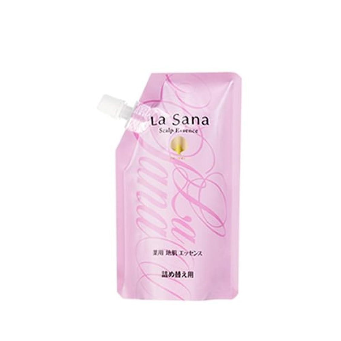 吸うゴミ箱を空にする批判ラサーナ 薬用 地肌 エッセンス 詰め替え用 (育毛剤) 150ml