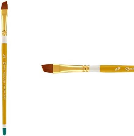 Low price Creative Mark Qualita Golden Paint Kansas City Mall Brush Handle Pai Short Taklon