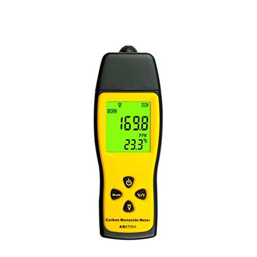 QWERTOUY Hand Kohlenmonoxid-Messgerät Tragbares CO Gasleck-Detektor Gas Analyzer High Precision Detektor de Gas-Monitor Tester 1000ppm