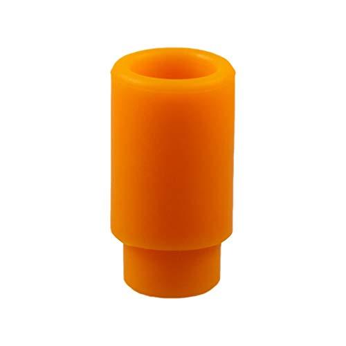PhoneNatic Drip Tip Silicone per 510 boccaglio Presa per boccaglio in arancione
