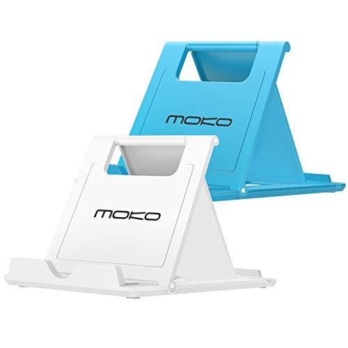 MoKo Mini Tragbar Handy/Tablet/E-Reader Ständer 2 Pack für 6-8