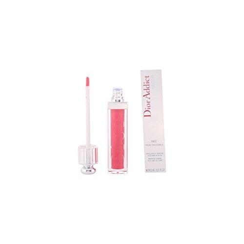 Christian Dior Addict Lip Gloss for Women, 662 Rose En Diable, 0.21 Ounce