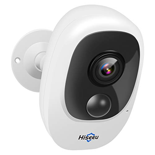 【Upgraded】 Hiseeu Home Security Camera,Wireless Rechargeable Battery Powered WiFi Camera,Night Vision, Indoor/Outdoor, 1080P Video with Motion Detection, 2-Way Audio, Waterproof, Cloud Storage