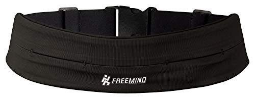 freemind Premium Laufgürtel - Fitnessgürtel zur Mitnahme von Handy und Schlüssel –Sport Hüfttasche - für Jogging, Laufen, Fitness, Fahrrad Fahren, Outdoor