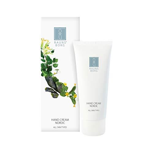 RAUNSBORG Hand Cream Nordic, Handcreme für Sehr Trockene Hände Intensive und Feuchtigkeitsspendende Hautpflege für Frauen Natürliche Wirkstoffe gegen Trockene und Rissige Hände, 100 ml