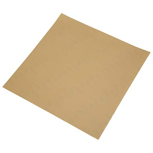 3D Printer PEI Film High Strength 3D Printer PEI Adhesive PEI Film Cotton Polyetherimide Build Plates 3 Sizes for Heating Bed Parts of 3D Printer(235 * 235mm)