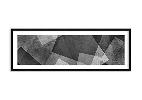 Imagen en un Marco de Madera de Color Negro - Imagen en un Marco - Cuadro sobre Lienzo - Impresión en Lienzo - 140x50cm - Foto número 3996 - Listo para Colgar - en un Marco - F1BAB140x50-3996
