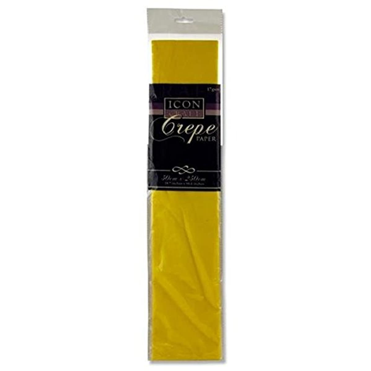 Icon Craft, Large Crepe Paper - Daffodil Yellow - 19.7