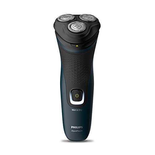 Philips S1121/45 Cordless Electric Shaver, 3D Pivot & Flex Heads, 27...