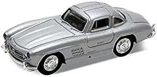 Atlas HO Scale Model Railroad Vehicle/Car - Mercedes Benz SL 300 - Silver