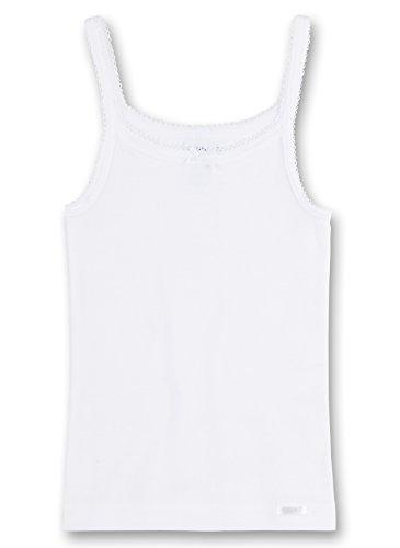 Sanetta - Camiseta Interior para niña, Talla 12 años (152 cm), Color Blanco 010