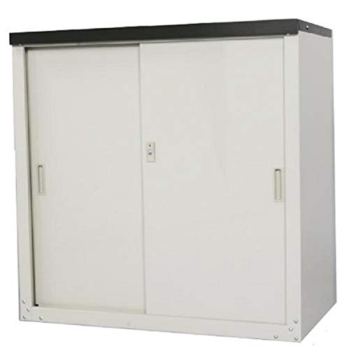 グリーンライフ(GREEN LIFE) 家庭用収納庫 小型なので設置しやすい 幅89×奥行47×高さ92cm HS-92