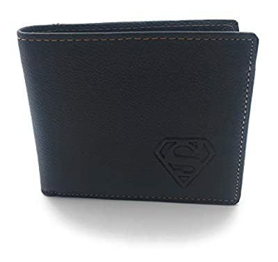 shopiness – Portefeuille en cuir Superman