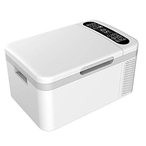 YLLN Coche y hogar 25L refrigerador portátil Mini refrigerador Caja de calefacción y refrigeración refrigerador eléctrico refrigerador de preservación de insulina 12V / 24V / 220V