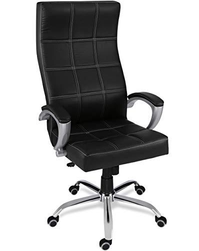 Green Soul Ace High Back Leatherette Dynamic Chair (Black)
