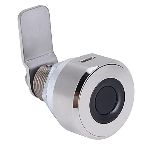 Cerradura de seguridad, cerradura sin llave de carga USB fácil de usar para puertas de armario