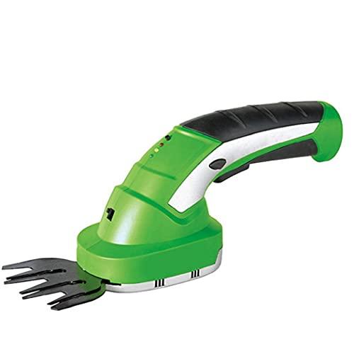 Elettrico Hedge Trimmer 2 in 1 accessori per la casa senza fili tenuta in mano portatile Grass Cesoie addebitabile domestica ausiliari
