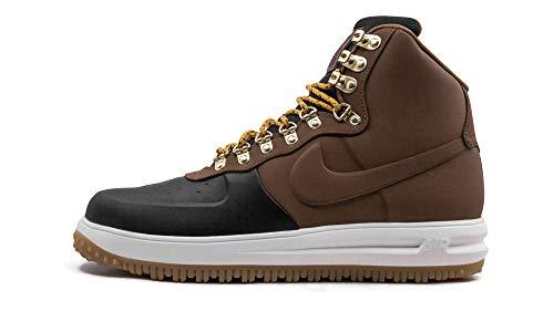 Nike Lunar Force 1 Duckboot '18, Zapatillas de Baloncesto Hombre, Multicolor (Black/Lt British Tan/Phantom 001), 42.5 EU