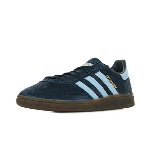 adidas Originals Mens Handball Spezial Sneaker, Collegiate Navy/Clear Sky/Gum