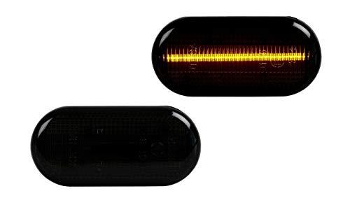 2 X LED SEITENBLINKER BLINKER SMOKE SCHWARZ Talento Vivaro Clio Kangoo Rapid Laguna Megane Twingo Primastar Duster Dokker Lodgy