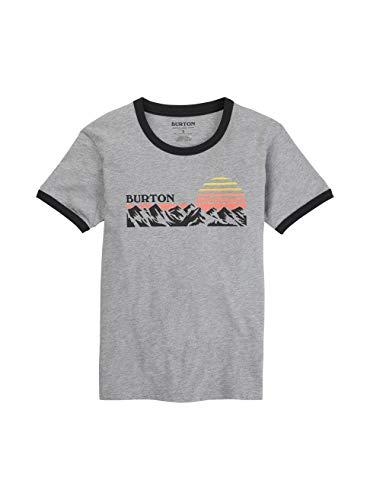 Burton Damen Timkey T-Shirt, Gray Heather, L