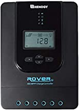 Renogy fit for Gel Sealed Flooded and Lithium Auto Paremeter Adjustable LCD Display Panel Regulator Rover 30 Amp 12V/24V DC Input MPPT Solar Charge Controller, 30A, Black