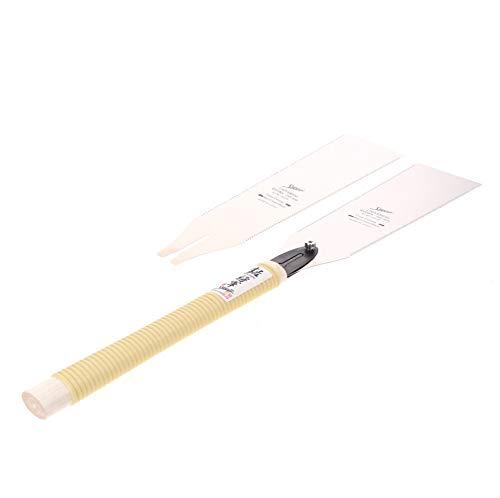 Shogun RYOBA Japansäge Universal Holz Zugsäge langer Griff (MC-2424H) Klinge 240 mm + RYOBA Japan Holzsägeblatt - Made in Japan