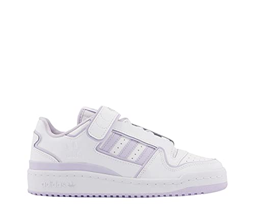 Zapatilla Mujer Adidas Forum Plus Color White/Cloud White/Purple Tint Talla 37 1/3