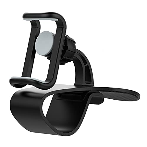 FZJDX Soporte de teléfono del Montaje del Tablero en el Soporte de Soporte de Soporte de Soporte Universal del Clip Flexible for automóviles for teléfonos Inteligentes móviles de 4 a 6 Pulgadas